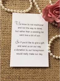 Poems For Wedding Invitations Asking For Money Towards A House