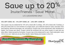 olive garden printable 2016 slideshare