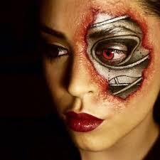 Pin by Jaime Ford on Cosplay & Fursuitting | Halloween eye makeup, Cyborg  makeup, Terminator makeup