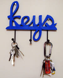 decoration: Astonishing Keys Word From Nice Wood Material Right For Cool Key  Hooks With Black