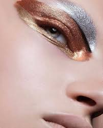 metallic eyes fashion photography editorial photography editorial makeup avant garde make up fashion make up make up styles dark skin s