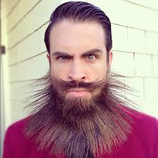 Funny Facial Hair Designs Crazy Fashionable Beard Design Beard Titled The Manly Main
