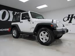 jeep wrangler 2015 white 4 door. 2015 jeep wrangler 4x4 2 door suv sport white used for sale mckinney frisco 4