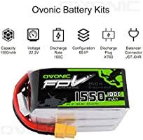 Ovonic 1550mAh 22.2V 6S 100C Lipo Battery for ... - Amazon.com