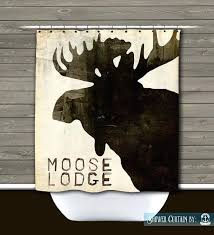 lodge shower curtain moose lodge shower curtain rustic lodge by bacova guild mountain lodge fabric shower