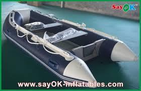 rigid hull fiberglass small inflatable boats with heavy duty aluminum floor