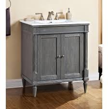 rustic gray bathroom vanities. Fairmont Designs Canada Floor Mount Vanities Item 143-V30 Rustic Gray Bathroom 2