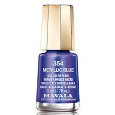 <b>Лак для ногтей</b> Mavala Metropolitan Color's 354 - <b>Metallic</b> Blue