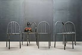 vintage metal dining chairs. Brilliant Chairs 25 Sleek Industrial Furniture Finds Inside Vintage Metal Dining Chairs  Plans 19 I