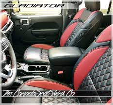 jeep gladiator custom leather seats