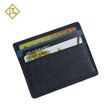 genuine leather card holder small wallet business card holder for men