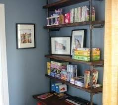 home office shelving solutions. Home Office Shelving Solutions Pipe Bookshelves And Desks Ideas .