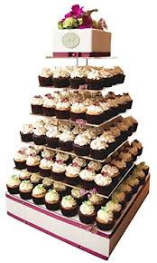 Amazoncom Large 7 Tier Wedding Party Cupcake Tower Stand Cake And