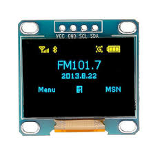 <b>0.96 inch 4pin</b> blue yellow iic i2c oled display module for arduino ...