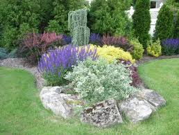 Small Picture The Perennial Garden Design Plans Landscape Design By Lee