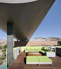 Decorations:Fascinating Terrace Roof Design With Unique Wooden Floor  Elegant Roof Terrace Green Furniture Massive