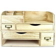 wood desk organizers with drawers adjule wooden desktop organizer office supplies storage shelf rack wood desk
