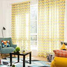 yellow and gray chevron print linen cotton blend contemporary long curtains for bedroom chevron yellow curtains yellow chevron shower curtain target