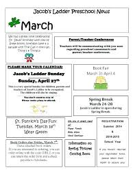 Monthly Newsletter Template For Teachers Free Newsletters Printable Templates By Mail For Teachers Online