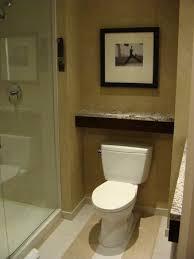 renaissance atlanta midtown hotel bathroom with marble counter tops