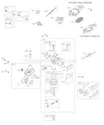 briggs and stratton aa0101 0001 parts list and diagram click to close