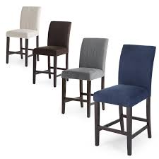 brilliant counter height chairs belham living carter mid century modern upholstered counter height stool