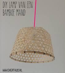 Diy Rieten Bamboe Lamp Moodbord Veranda Lampen Bamboe En Hanglamp