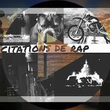 Citation Rap Faute Damour Et Deau Fraîche Je Vis Facebook