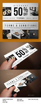 17 best ideas about coupon design promotional restaurant voucher template design graphicriver net item