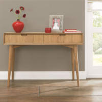small console table with drawer. Bentley Designs Oslo Oak Console Table With Drawers Small Drawer