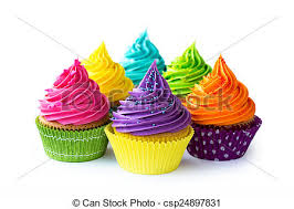 colorful cupcakes. Perfect Cupcakes Colorful Cupcakes  Csp24897831 Throughout Cupcakes R