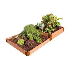 frame it all raised garden bed.  Garden Frame It All Two Inch Series 4 Ft X 8 11 In And Raised Garden Bed A