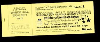Prize Draw Tickets Aldersons Print