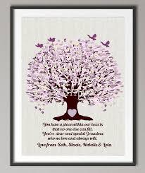 personalized grandma wedding gifts family tree quote wall art poster print pictures canvas painting home decoration on personalised wall art family tree with personalized grandma wedding gifts family tree quote wall art poster