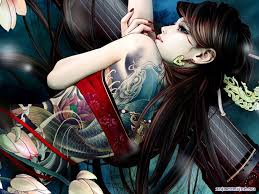 японские татуировки клеймо или искусство Aos только лучшее аниме