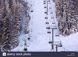 aerial view of ski lift ski lift conveyor gondola chair lift chair taos valley resort alpine village lodge new