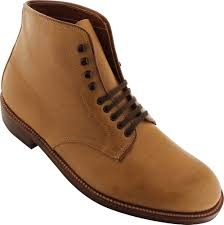 86042h alden 5 eyelet plain toe boot trubalance last natural chromexcel color 8