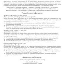 Sample Resume: Construction Project Accountant Resume Pic