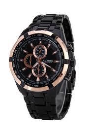 Buy curren <b>Curren 8023 Men's</b> Stainless Steel Watch (Gold Black ...