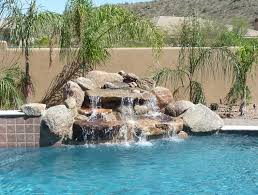 beautiful pools with waterfalls. Perfect Pools Custom Gilbert Pool Remodel On Beautiful Pools With Waterfalls O