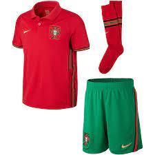 Kit home junior Portugal 2021