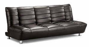 Interesting Leather Sofa Bed Ikea Beds A Intended Creativity Ideas