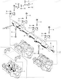 Honda motorcycle models with no year oem parts diagram for camshaft