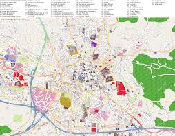 city maps aix en provence Maps Aix En Provence city map aix en provence with points of interest map aix en provence france