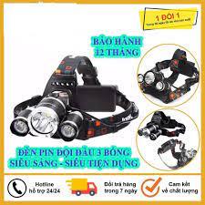 Đèn Pin Đội Đầu 3 Bóng Led Siêu Sáng HIGH POWER HEADLAMP T6, Sạc Pin Siêu  Tiện Dụng, Bảo Hành 12 Tháng tại Hà Nội