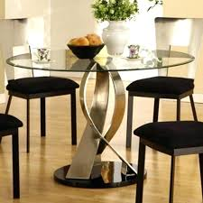 dining room set ideas round glass dining table and chairs best glass dining table set ideas