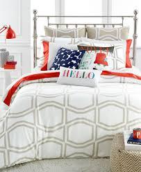 Kate Spade Bedding Kate Spade New York Bow Tile Beige King Duvet Cover Set Home