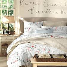 37 most class home textile new elegant french style luxury cotton bedding sets flowers and birds queen king size duvet cover super egyptian set full co