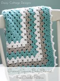 """Granny Square Pattern - A free crochet pattern & This particular blanket is just a """"lovey"""" (approximately 18″ square) but  this granny square pattern is easily expanded to make it full-sized. Adamdwight.com"""