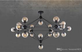 branch bubble ceiling led light source chandelier light vintage retro glass pendant lamps for hotel bar restaurant decor hanging pendant glass hanging